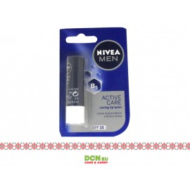 NIVEA LIP CARE 4.8G MEN ACTIVE