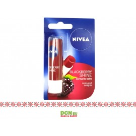 NIVEA LIP CARE 4.8G BLACKBERRY SHINE